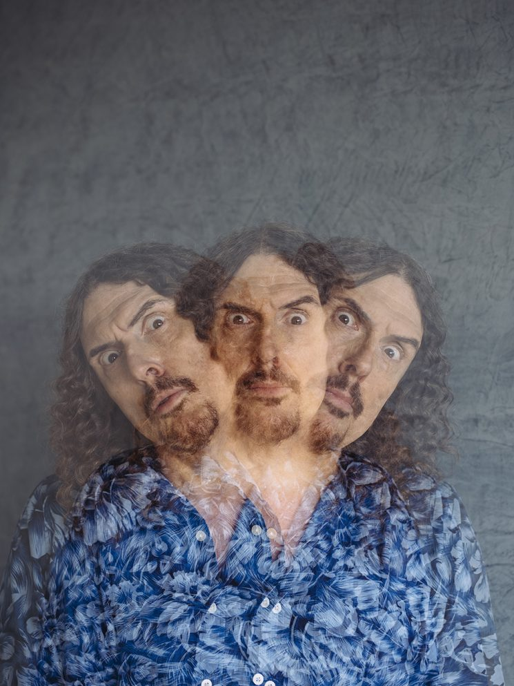 "Singer and musician ""Weird Al"" Yankovic poses for a portrait at his home in Los Angeles, California January 19, 2017.  Photo: Brinson+Banks"