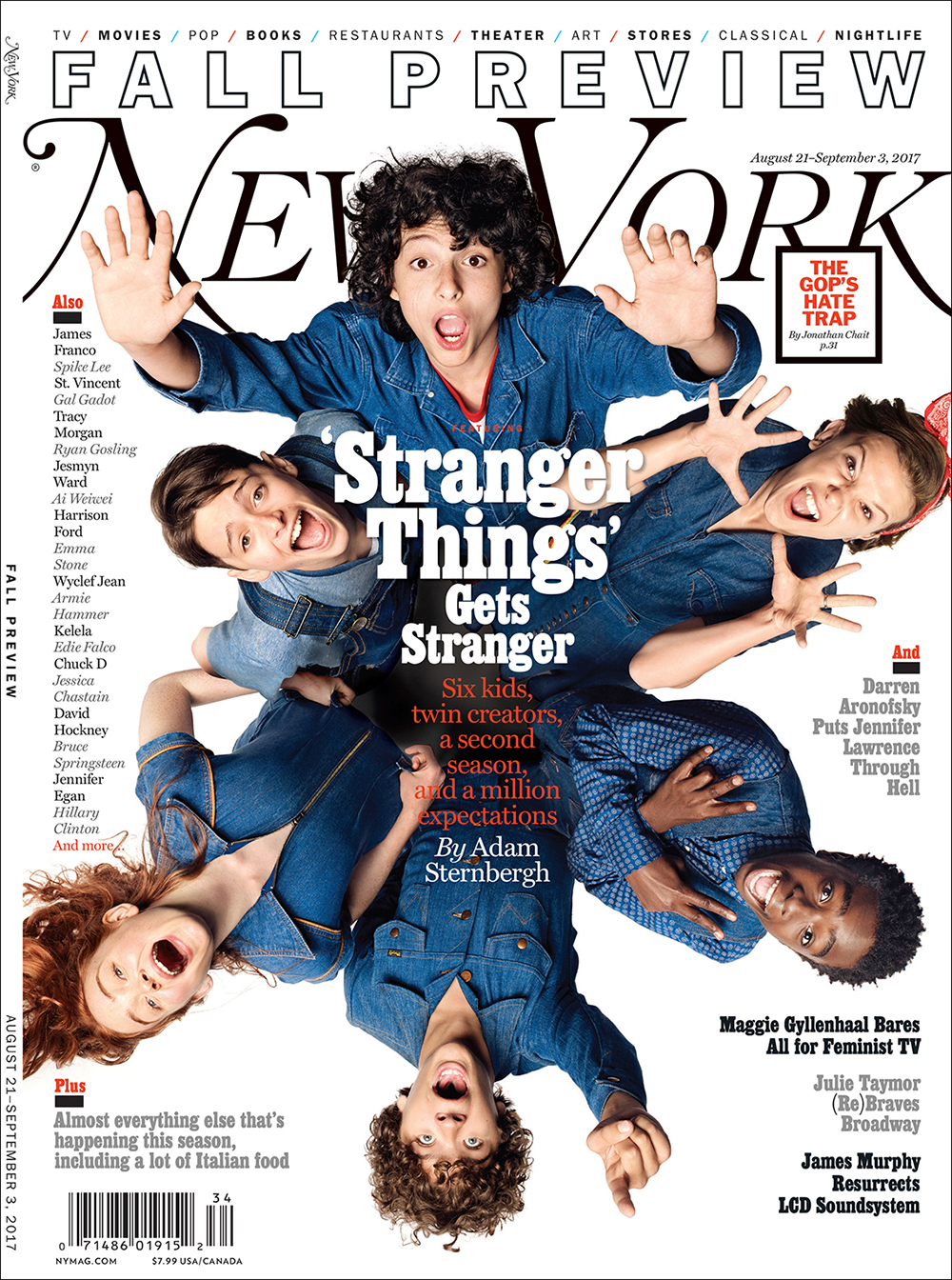 art streiber photographs the young stars of stranger things for new york magazine s fall. Black Bedroom Furniture Sets. Home Design Ideas