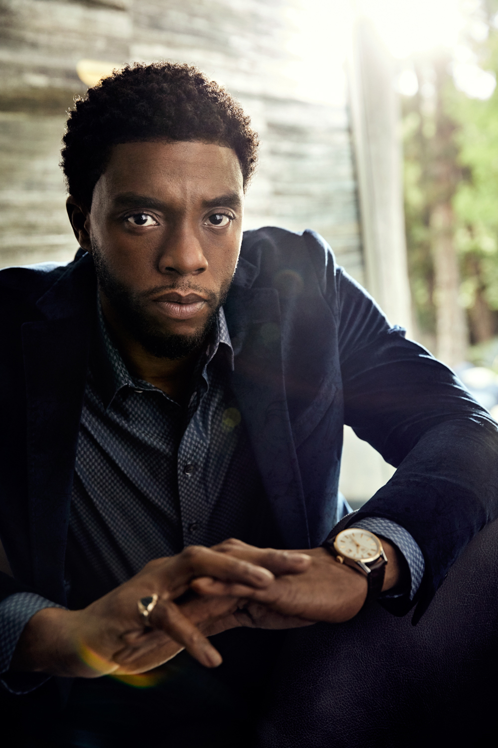 Art Streiber Photographs Black Panther Star Chadwick Boseman For The November Issue Of Vanity Fair Stockland Martel Blog